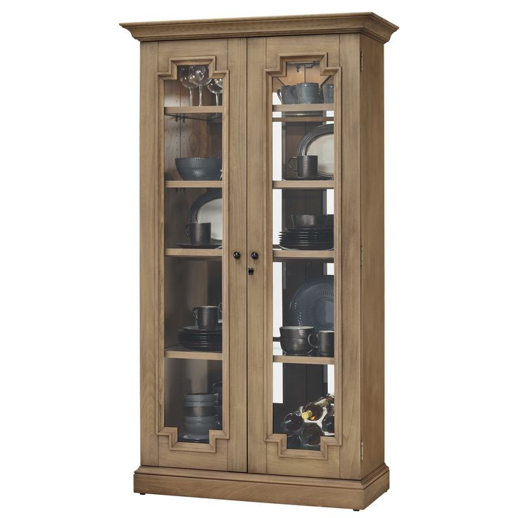 Curios Chasman II Curio Cabinet Dining Room Table Sets Bedroom Furniture Cabinets And Solid Wood