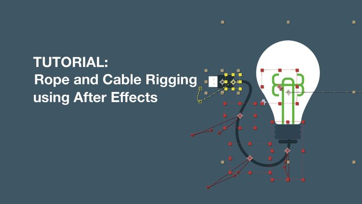 Rope and Cable Rigging Tutorial using After Effects (Puppet Tool + Duik DuDuf IK)