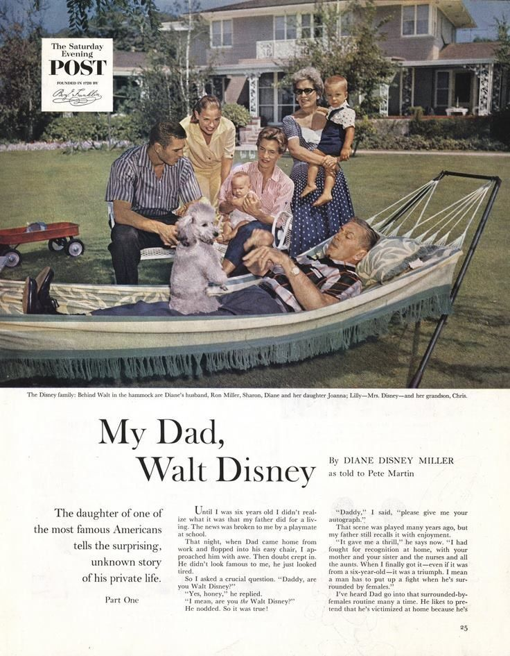 """My Dad, Walt Disney"" by Diane Disney Miller"