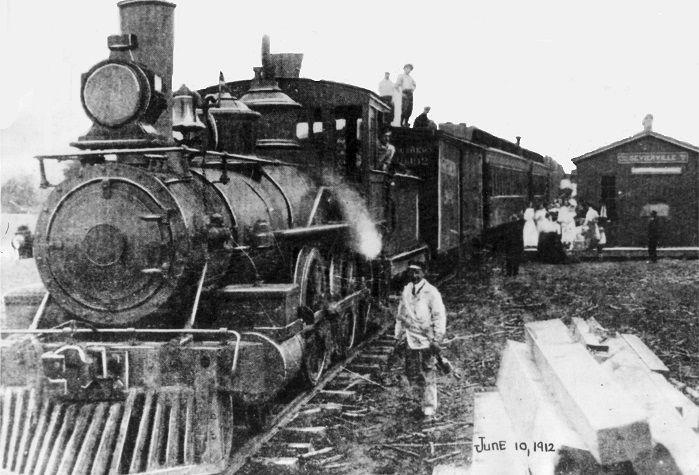 KS&E train, Sevierville. NOT the first KS&E train at ...