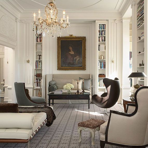 11 Leading Interior Designers And Architects Style The Featured Living Rooms With Traditional Conventions For A Well Balanced Elegant Sophisticated
