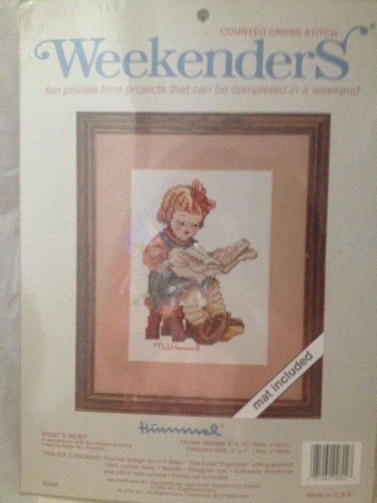Weekenders M J Hummel What S New Counted Cross Stitch