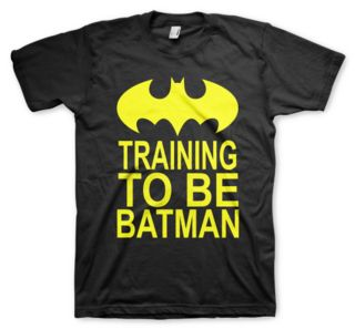 Training to be Batman — Color Animal