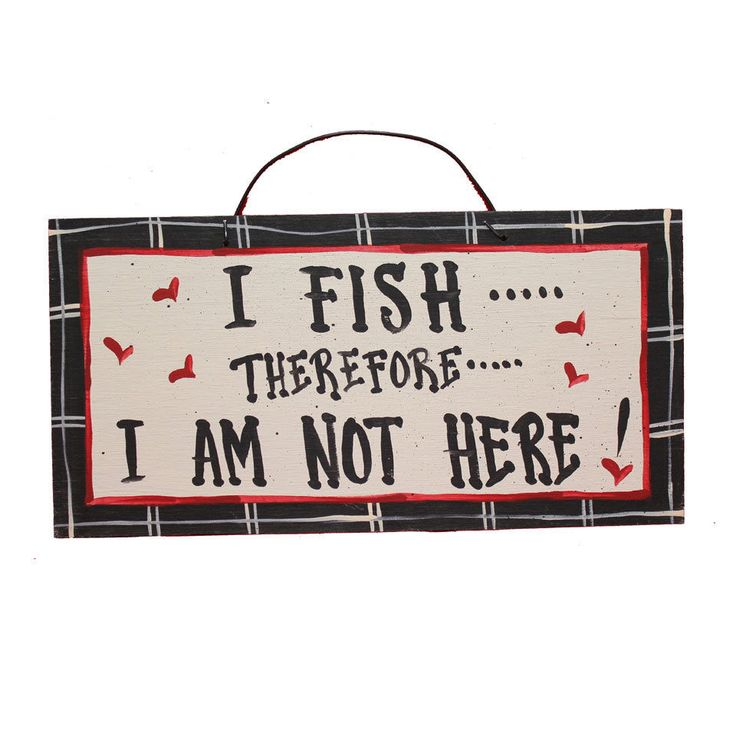 Details about Funny Hunting/FishingThemed Wooden Signs