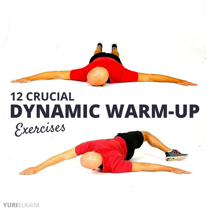 If you\\\'re like most people, you\\\'ll be wondering why dynamic warm-up exercises are important to do before a workout. Or perhaps you already know their importance and are simply looking for some great dynamic stretches to add into your warm-up routine.Either way, you\\\'ll find your answers here. Before I dive ...