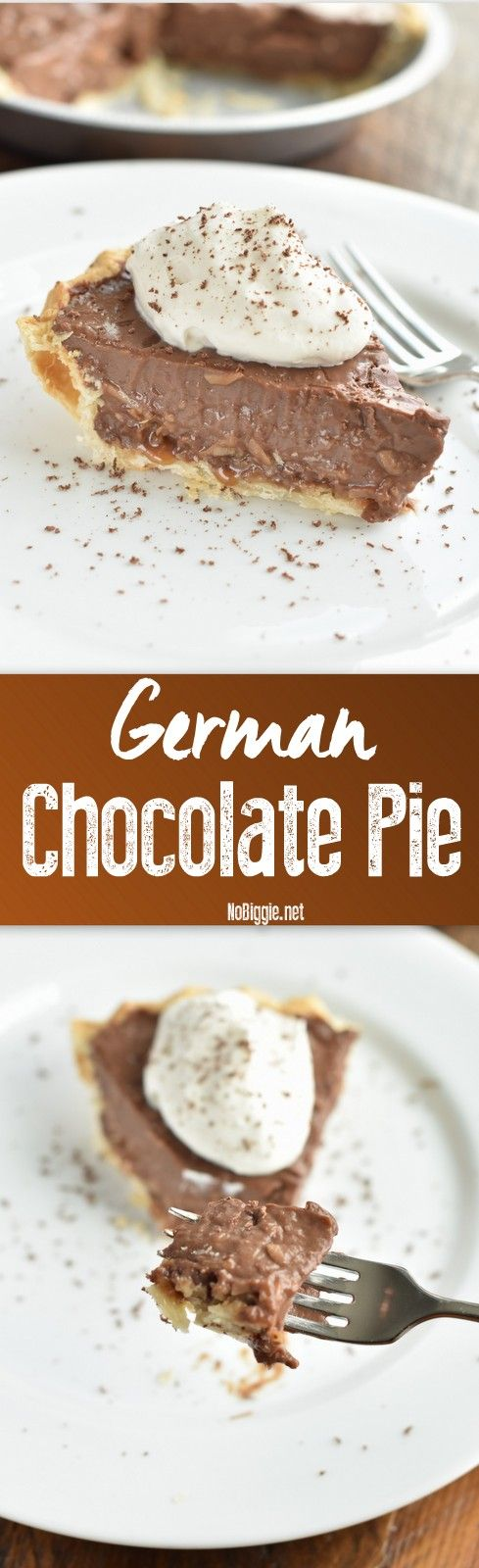 German Chocolate Pie | NoBiggie.net