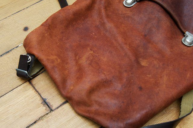 Whether from condensation from a glass on a leather couch, rain spots on a leather jacket or stepping in a puddle in leather shoes, removing water spots from leather is necessary...