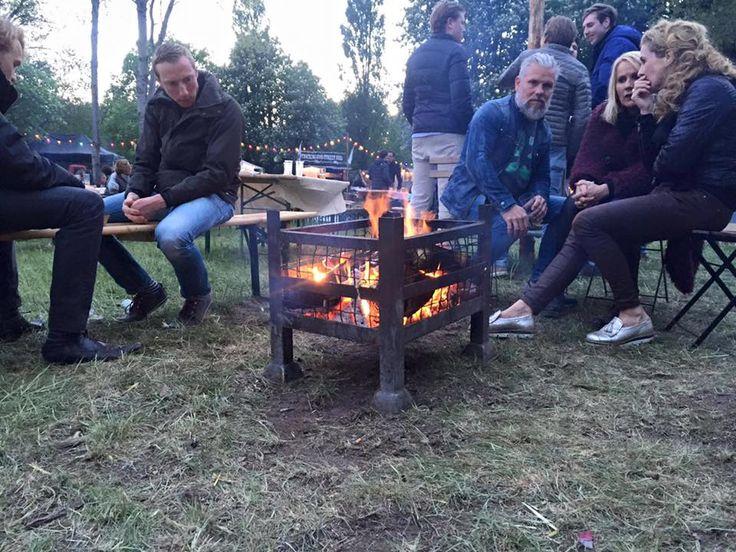 Eten op Rolletjes 2016 firepits by Vrieshuis14 for the organization off Eten op Rolletjes