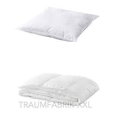 IKEA 2-tlg. Bettenset 1 x Bettdecke 140x200 cm + 1 x Kopfkissen 80x80 cm NEU&OVP