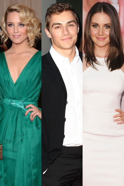 Glee's Dianna Agron split with actor Dave Franco after a ...