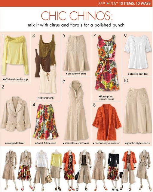 10 items - 10 ways