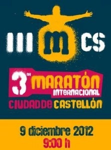 3rd International Marathon City of Castellón/ 3er Maratón Internacional Ciudad de Castellón