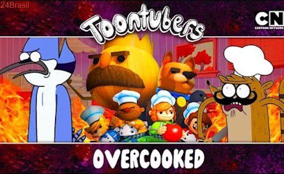 Sou um sanduíche mortal idiota… Overcooked!!! | ToonTubers | Cartoon Network