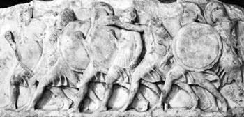 La Anábasis, una de las obras de Jenofonte en la que relata Ciro el Joven y sus mercenarios, los 10,000 de Persia, que tratan de usurpar el trono de su hermano, Artajerjes,  después de que su padre abdicó a su favor. Es uno de mis favoritos entre los clásicos griegos. (drsa)