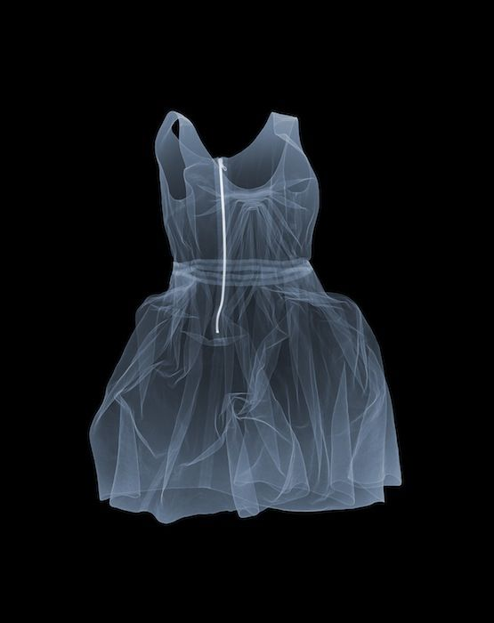 Red dress magic x ray