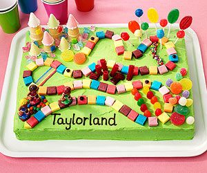 Candyland cake for the girls birthday? I think it's an Idea! Pin to Win! Birthday Cakes Galore: Game Changer (via Parents.com)