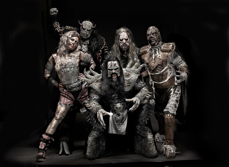 Oh Lordi! The shock-rock band