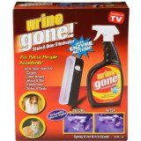 Urine Gone UG101R Stain & Odor Eliminator Kit  List Price: $29.99 Discount: $17.39 Sale Price: $12.60