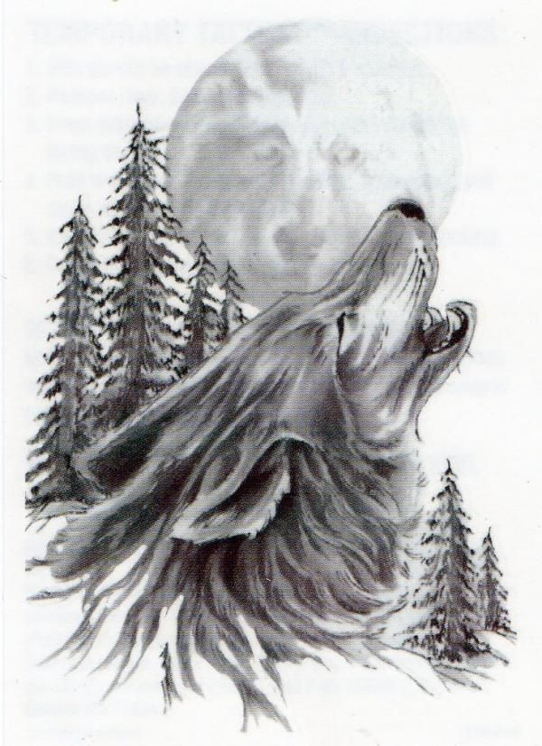 wolf howling tattoo bing im genes tattoos pinterest wolves image search and search. Black Bedroom Furniture Sets. Home Design Ideas