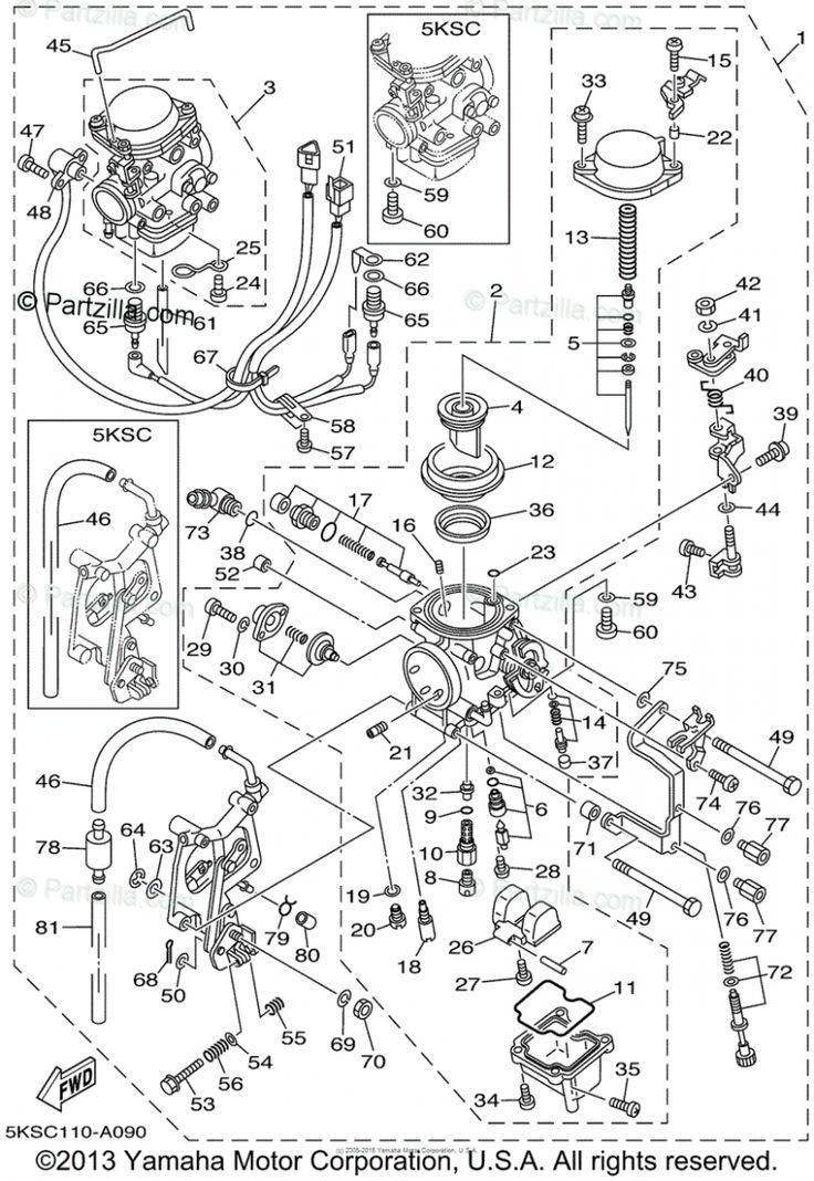 Yamaha V Star 8 Engine Diagram Malaysia di 2020