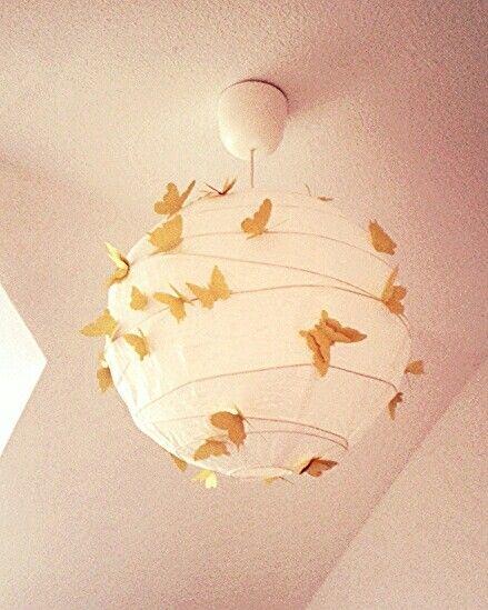 Lampe - Schmetterlinge - Babyzimmer