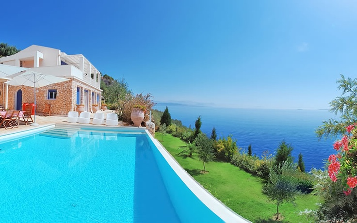 Villa Susana in Prinias, Corfu. Prinias is located between two popular tourist destinations, Ipsos and Barbati, they are 16 klm far away from Corfu town and 18 klm from the International airport of the island of Corfu.