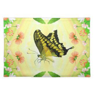 Summer Lover Butterfly Place Mats