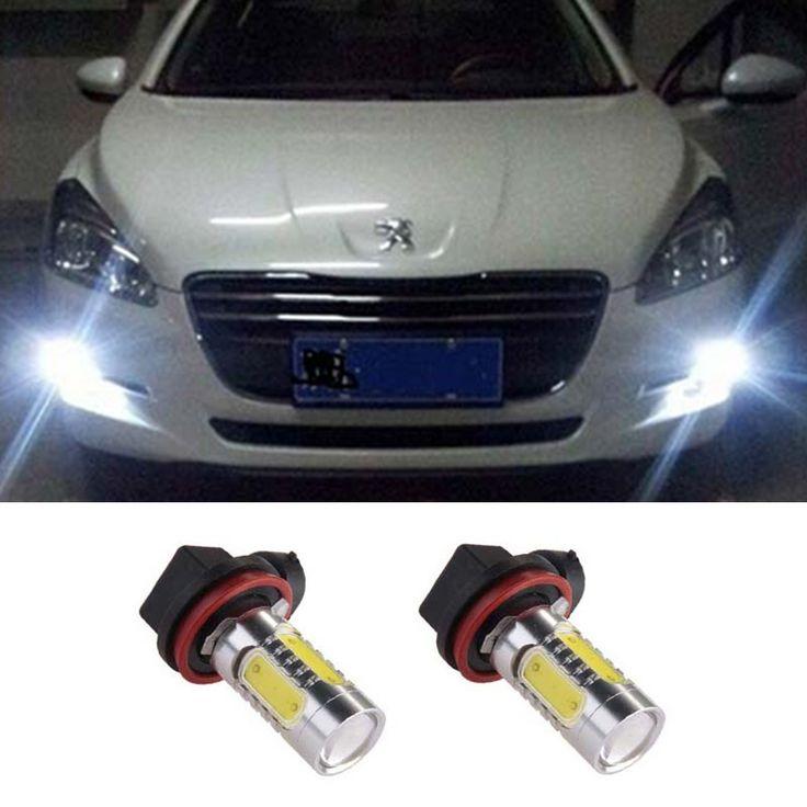 $11.20 (Buy here: https://alitems.com/g/1e8d114494ebda23ff8b16525dc3e8/?i=5&ulp=https%3A%2F%2Fwww.aliexpress.com%2Fitem%2F2pcs-Car-Accessories-H11-White-7-5W-COB-LED-Fog-Light-Bulbs-For-Peugeot-301-2013%2F32750383902.html ) 2pcs Car Accessories H11 White 7.5W COB LED Fog Light Bulbs For Peugeot 301 2013-2014 Peugeot 3008 2011-2013 Peugeot 407 2008 for just $11.20