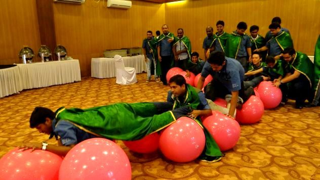 Indoor team building games are an excellent way for enhancing the coordination of team members and fostering a relationship between them.