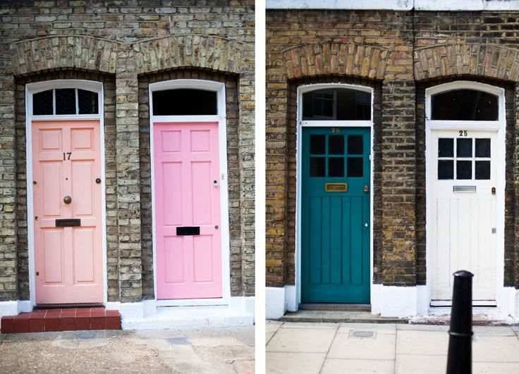 colourful doors & 9 best 1930/40s home images on Pinterest | Vintage kitchen Kitchen ...