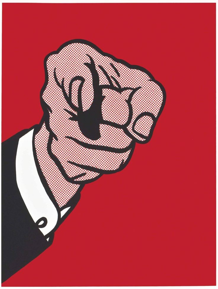 Roy Lichtenstein, 'Finger Pointing (Corlett 126)', 1973