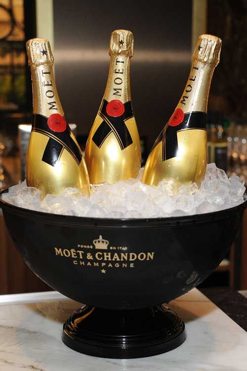 The Moet & Chandon Maison was established in 1743 and was introduced in India under the British Raj almost a century later. And the type of drink has always been popular among the country's jet set...