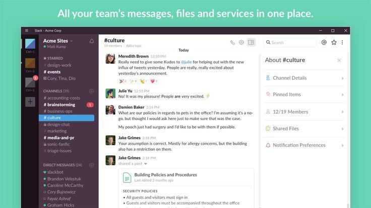 L'app ufficiale Slack arriva su Windows 10   PC http://www.sapereweb.it/lapp-ufficiale-slack-arriva-su-windows-10-pc/        Da alcune ore è disponibile sullo Store di Windows 10 (PC e Tablet) l'applicazione ufficiale Slack.  Slack è una piattaforma per la comunicazione tra gruppi di lavoro molto utilizzata che permette di scambiare messaggi (di gruppo o privati), chiamate, gestire liste su cose da fare, ges...