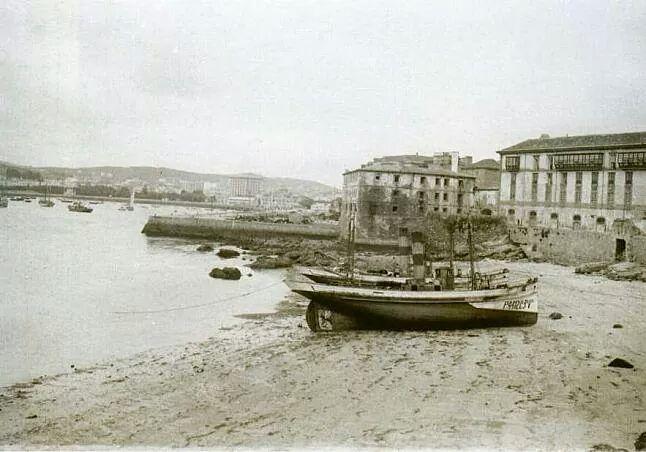 Playa del Parrote, 1927.