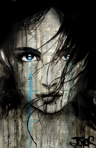 "Saatchi Art Artist Loui Jover; Drawing, ""passage"" #art"