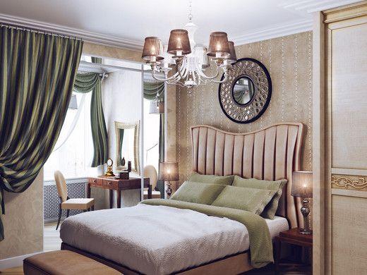 bedroom, art, design, classic  http://www.myhome.ru/idea/interior/11787