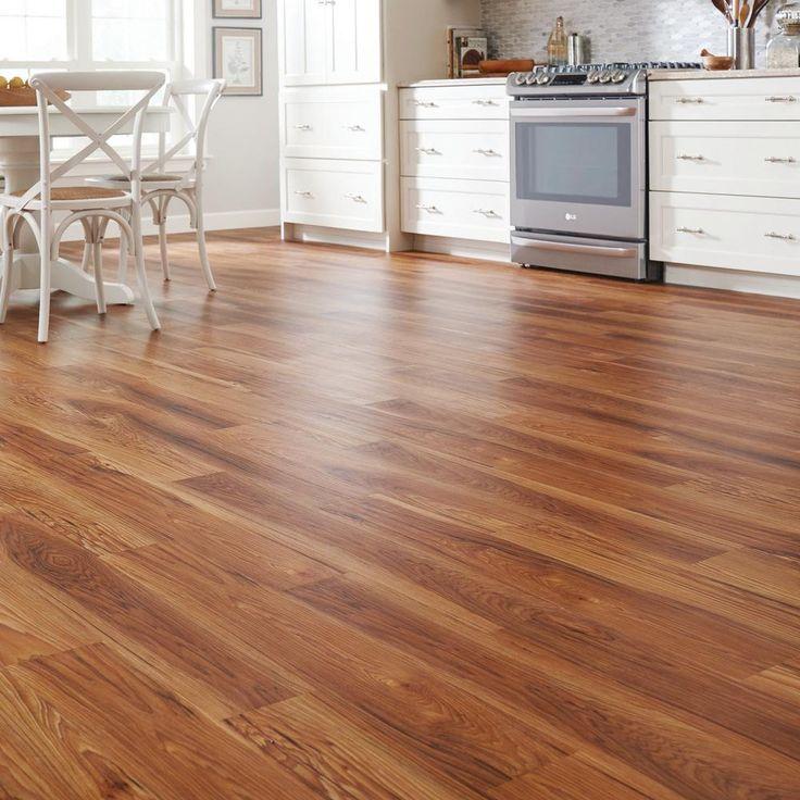 TrafficMASTER Allure 6 In X 36 High Point Chestnut Luxury Vinyl Plank Flooring