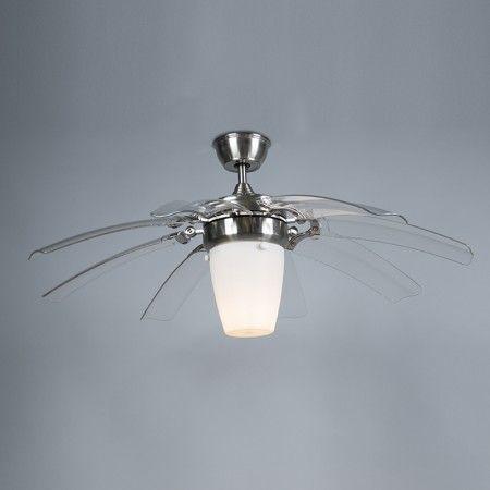 Elegant Hochwertig #Deckenventilator Wings 42 Stahl #Deckenleuchte #Ventilator