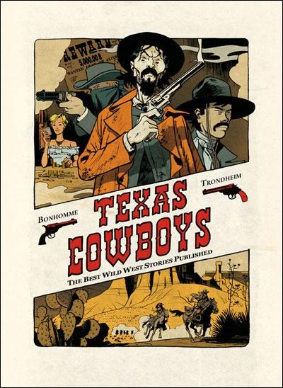 BD75011, le blog BD de Manuel F. Picaud: Album BD : Texas Cowboys de Lewis Trondheim et Matthieu Prudhomme