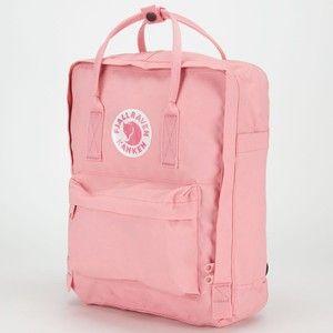 fjallraven kanken rucksack pink