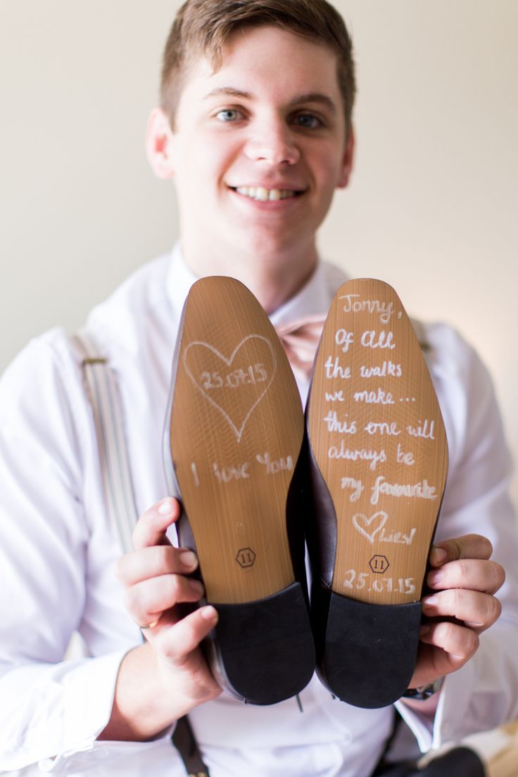 Our wedding // Wedding Photography // Cking Photography // Letter to my husband on the soles of his wedding shoes