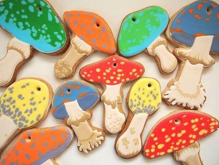 COOKIE BOY : きのこクッキー