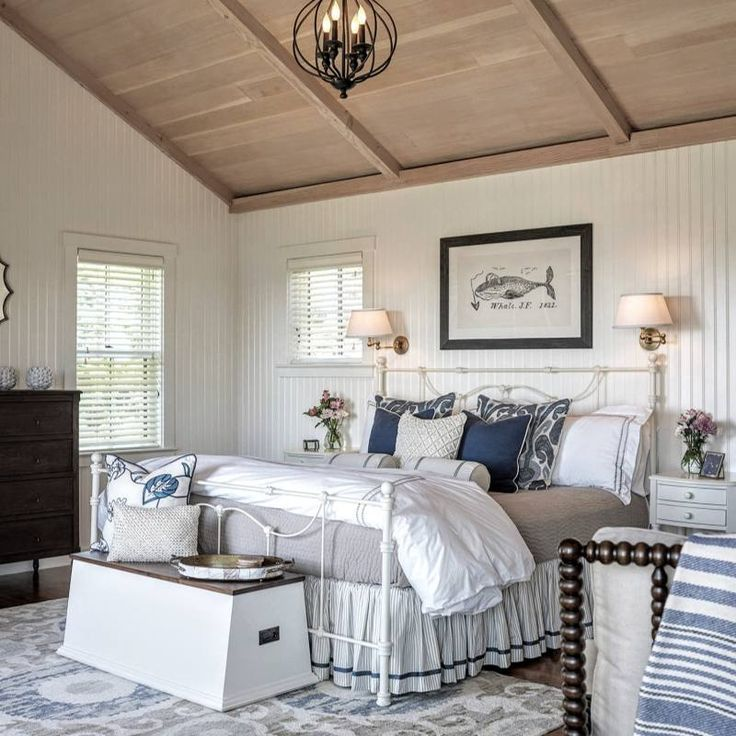 51 Countryside Bedroom Decor Ideas French Country Decorating