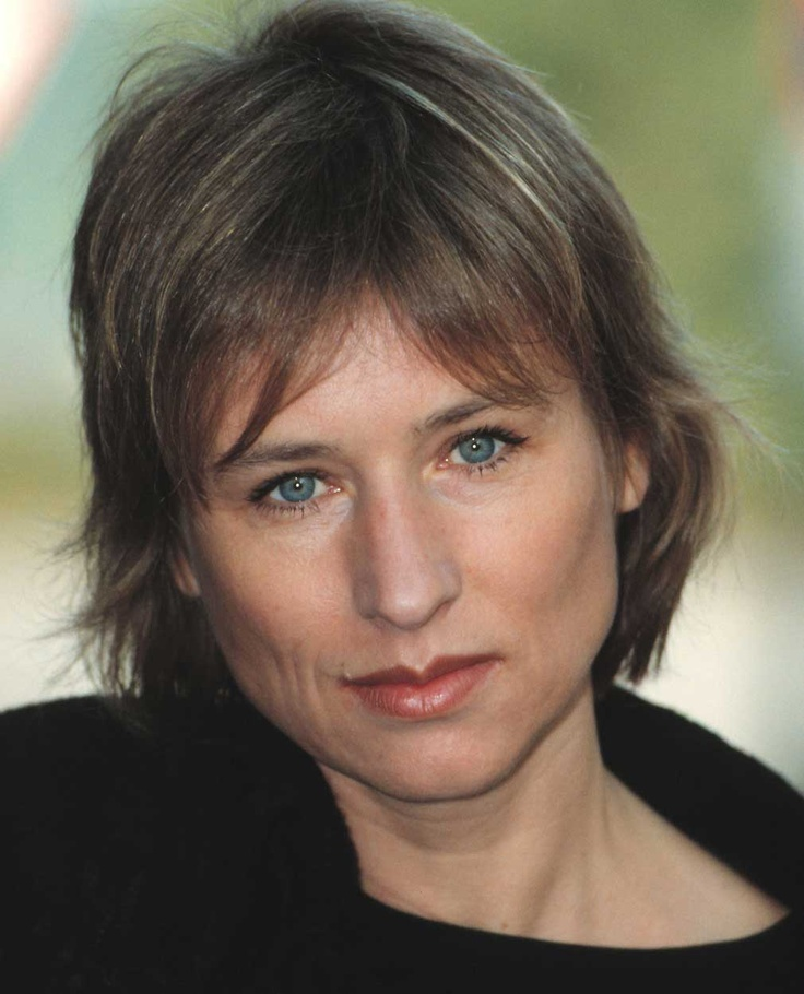 "Born October 16th, 1954 Corinna Harfouch is a German actress. I recall seeing her in ""Perfume: The Story of a Murderer"""