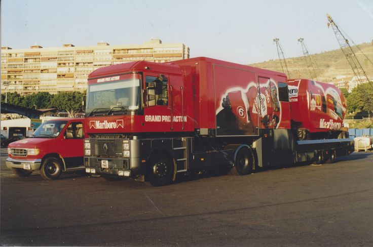 The Marlboro Grand Prix Action simulator. A complex bit of kit that required a lot of care. It now resides with its sister simulator at Longleat House in the UK.