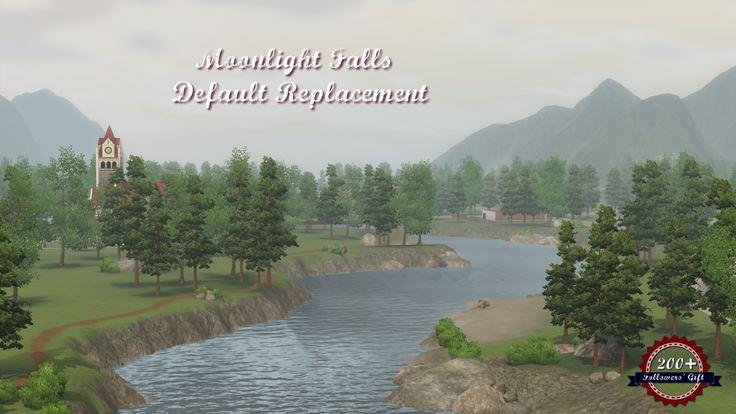 Sims 3 Custom Worlds | heavensims: 200 Follower's Gift: Moonlight Falls...