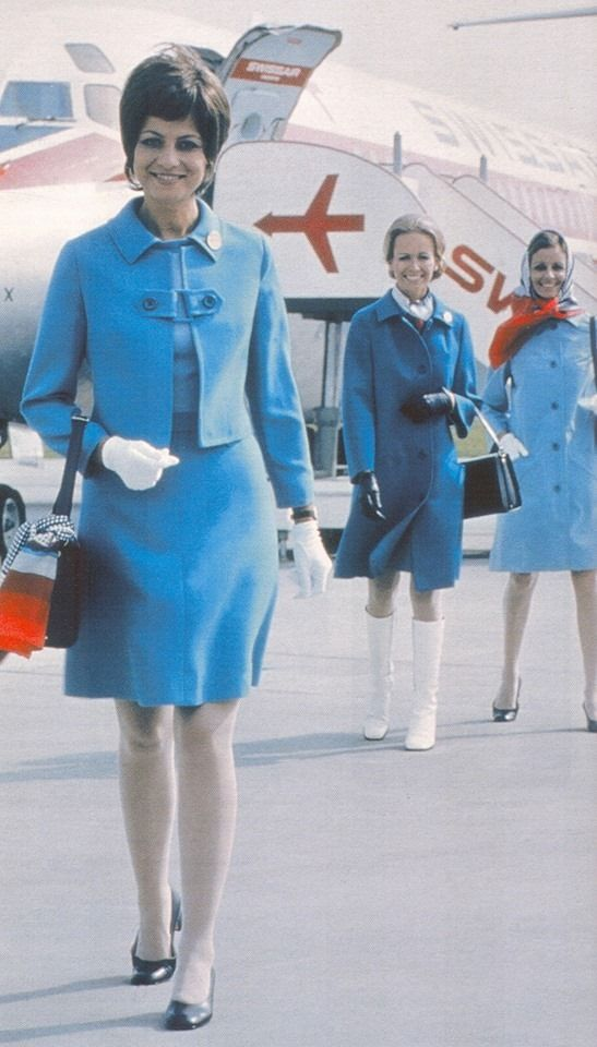Swissair elegance in the 1970s by Philip Nicholson