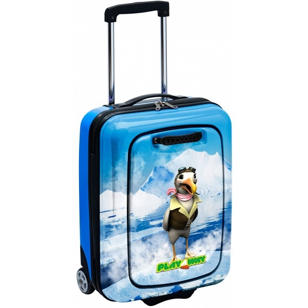 Amy Jo the Albatross PlayAway Case with removable PlayPod / Childrens Luggage Suitcase PLA102 - £99.99 available from www.kubi.co.uk - PlayAway children's luggage and suitcases with removable child friendly pull out PlayPod