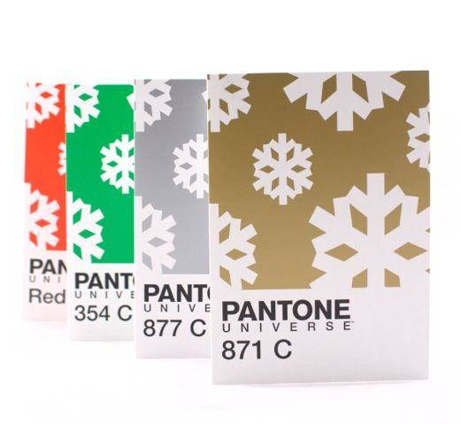 If It's Hip, It's Here: Pantone Christmas Wrapping Paper, Gift Bags, Gift Tags and Cards For The Designer