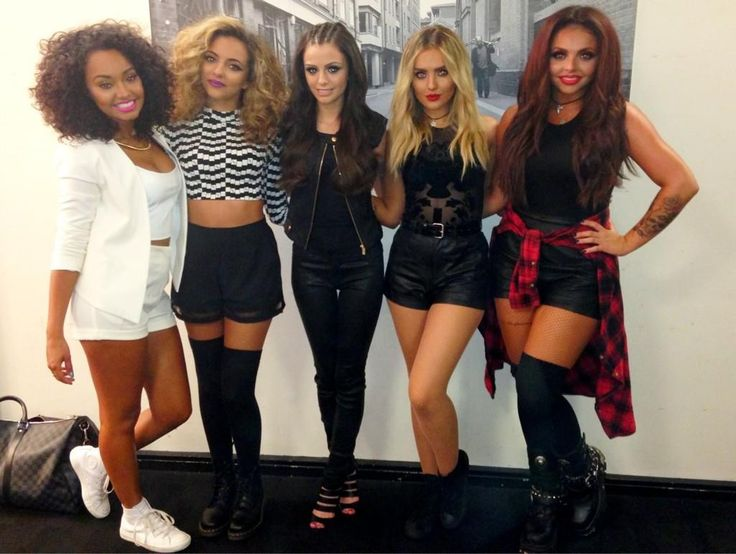 Little Mix and Cher Lloyd